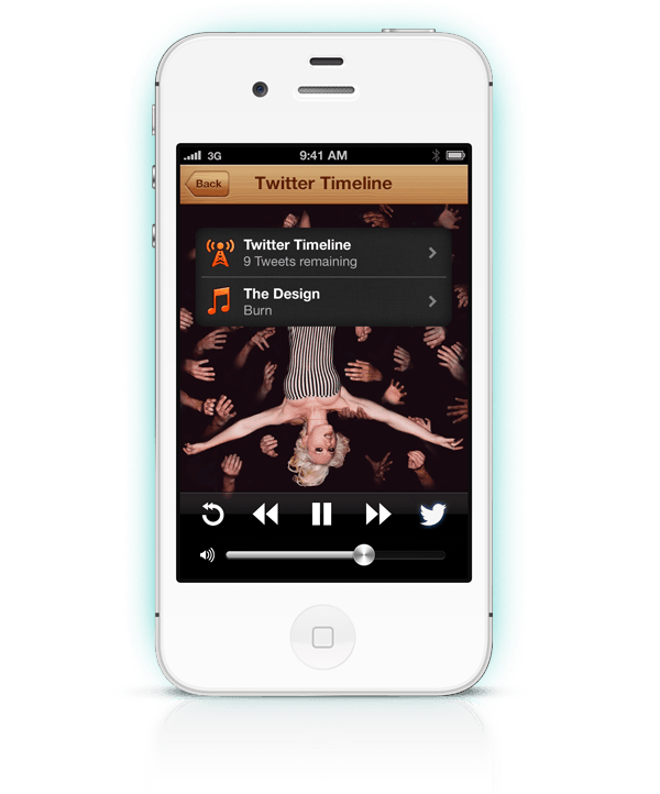 The Social Radio for iOS